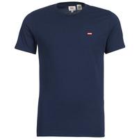 Oblečenie Muži Tričká s krátkym rukávom Levi's SS ORIGINAL HM TEE Námornícka modrá
