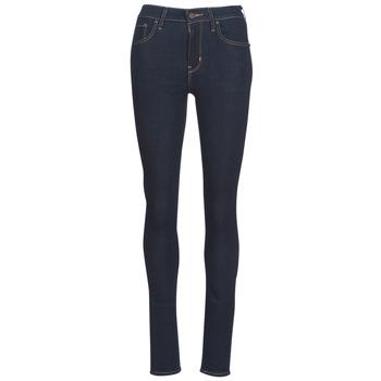 Oblečenie Ženy Džínsy Skinny Levi's 721 HIGH RISE SKINNY To / Čajová hnedá / Nine