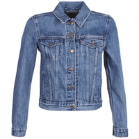 Oblečenie Ženy Džínsové bundy Levi's ORIGINAL TRUCKER Modrá / Medium