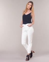 Oblečenie Ženy Rovné džínsy Levi's 501 CROP In / Čajová hnedá