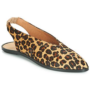 Topánky Ženy Balerínky a babies Jonak APIO Leopard