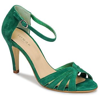 Topánky Ženy Sandále Jonak DONIT Zelená