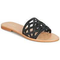 Topánky Ženy Šľapky Jonak WEB Čierna