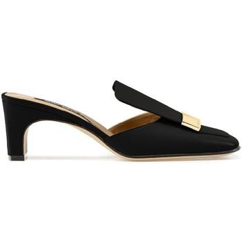 Topánky Ženy športové šľapky Sergio Rossi A78000MNAN07110_1000 nero