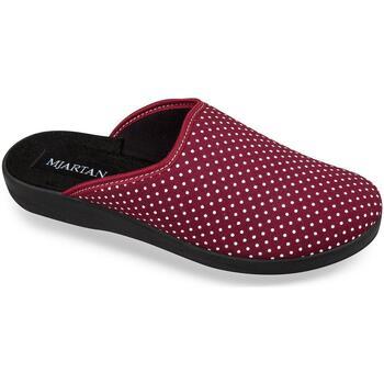 Topánky Ženy Papuče Mjartan Dámske papuče  ADEL 3 červená