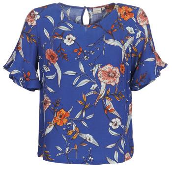 Oblečenie Ženy Blúzky Cream ALLY Modrá