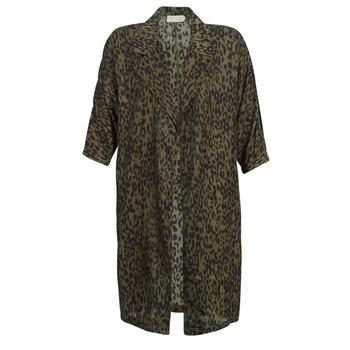 Oblečenie Ženy Kabátiky Trenchcoat See U Soon GARAGA Kaki / Čierna