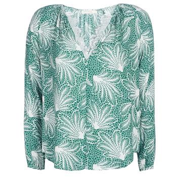Oblečenie Ženy Blúzky See U Soon GARAGAVE Zelená / Biela