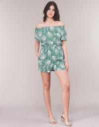 Oblečenie Ženy Módne overaly See U Soon GARAGABE Zelená / Biela