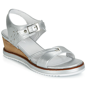 Topánky Ženy Sandále Regard RAXALI V3 ECLAT ARGENT Strieborná