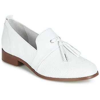 Topánky Ženy Derbie Regard REVA V1 TRES NAPPA BLANC Biela
