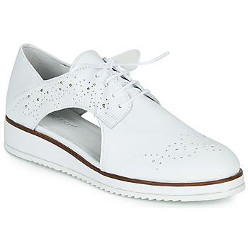 Topánky Ženy Derbie Regard RIXAMU V1 NAPPA BLANC Biela