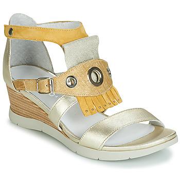 Topánky Ženy Sandále Regard RUBIKA V3 VEL JAUNE Žltá