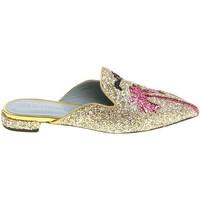 Topánky Ženy Nazuvky Chiara Ferragni CF1842 GLITTER ORO oro