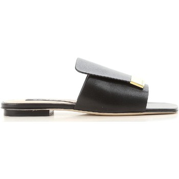 Topánky Ženy športové šľapky Sergio Rossi A80380 MNAN07 1000 nero
