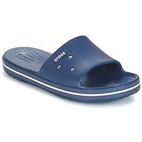 Topánky športové šľapky Crocs CROCBAND III SLIDE Námornícka modrá / Biela