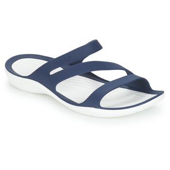 Topánky Ženy športové šľapky Crocs SWIFTWATER SANDAL W Námornícka modrá