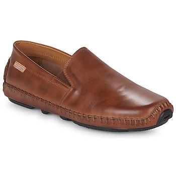Topánky Muži Mokasíny Pikolinos JEREZ 09Z Hnedá