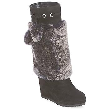 Topánky Ženy Čižmy do mesta Sebastian NIGOK Čierna