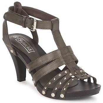 Topánky Ženy Sandále StylistClick MADO Hnedošedá