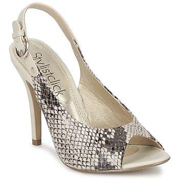 Topánky Ženy Sandále StylistClick RUTH Béžová / Svetlá zelená pastelová