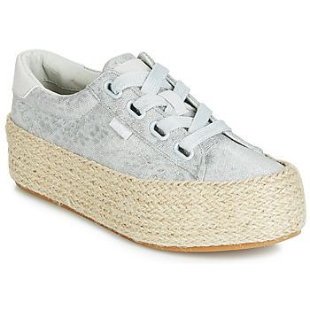 Topánky Ženy Nízke tenisky MTNG WANDA Strieborná