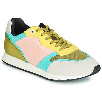 Topánky Ženy Nízke tenisky MTNG HANNA Ružová / Žltá / Tyrkysová