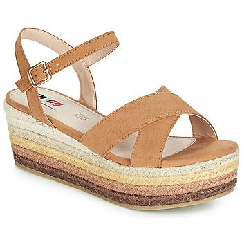 Topánky Ženy Sandále MTNG SOCOTRA3 Hnedá