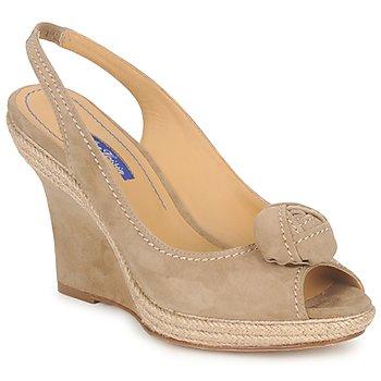 Topánky Ženy Sandále Atelier Voisin ALIX Hnedošedá