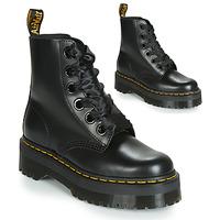 Topánky Ženy Polokozačky Dr Martens Molly Čierna