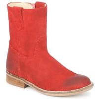 Topánky Dievčatá Polokozačky Hip DIRAN Červená
