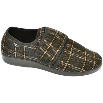 Topánky Muži Papuče Mjartan Pánske papuče  ROMAN 3 hnedá
