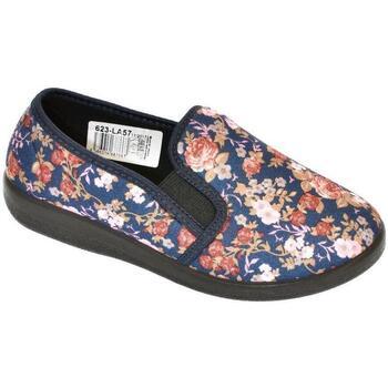 Topánky Ženy Papuče Mjartan Dámske papuče  AGÁTA 8 tmavomodrá