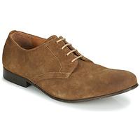 Topánky Muži Derbie Hudson PIER Hnedá