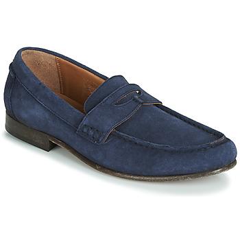 Topánky Muži Mokasíny Hudson SEINE Modrá