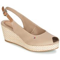 Topánky Ženy Sandále Tommy Hilfiger ELBA 39D2 Béžová