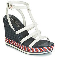 Topánky Ženy Sandále Tommy Hilfiger VANCOUVER 7A Biela