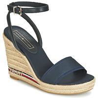 Topánky Ženy Sandále Tommy Hilfiger ELENA 78C1 Námornícka modrá
