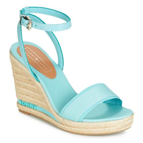 Topánky Ženy Sandále Tommy Hilfiger ELENA 78C Modrá / Modrá