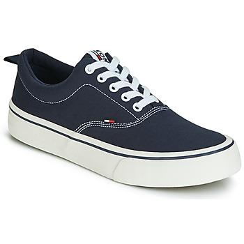 Topánky Muži Nízke tenisky Tommy Jeans VIRGIL 1D Čierna