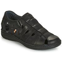 Topánky Muži Sandále Casual Attitude JALAYIME Čierna