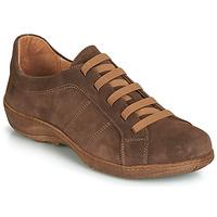 Topánky Muži Derbie Casual Attitude JALIYAFE Hnedá