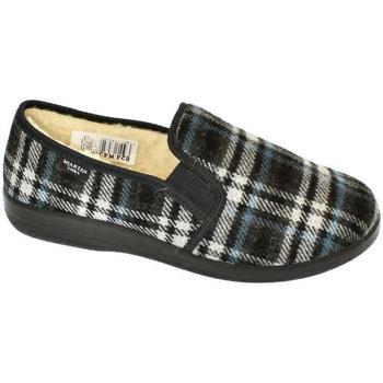 Topánky Muži Papuče Mjartan Pánske papuče  OTO 7 strieborná