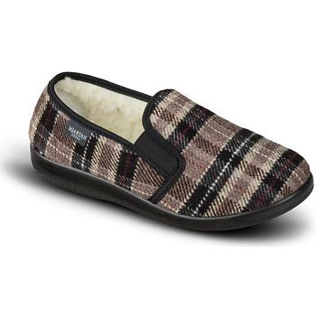 Topánky Ženy Papuče Mjartan Dámske papuče  NINA 5 hnedá