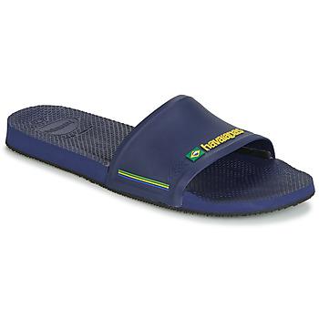 Topánky Muži športové šľapky Havaianas SLIDE BRASIL Námornícka modrá