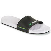 Topánky Muži športové šľapky Havaianas SLIDE BRASIL Čierna / biela