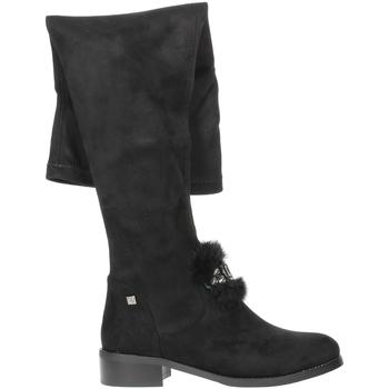 Topánky Ženy Cizmy Nad Kolenà Braccialini TA107 Black