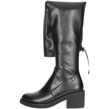 Topánky Ženy Cizmy Nad Kolenà Braccialini TA116 Black