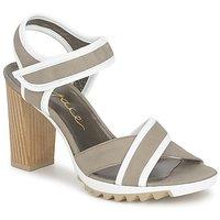 Topánky Ženy Sandále Espace GENIEVRE šedá / Biela