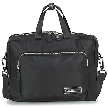 Tašky Muži Aktovky Calvin Klein Jeans PRIMARY 1 GUSSET LAPTOP BAG Čierna